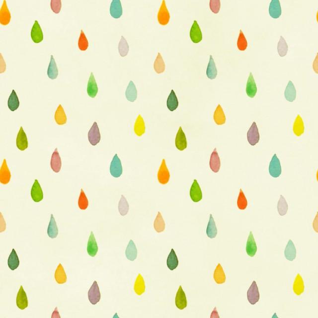 [패턴] 수채화 빗방울무늬 배경 이미지