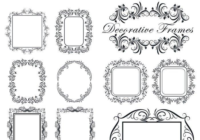 [브러쉬] Decorative Frame Brushes