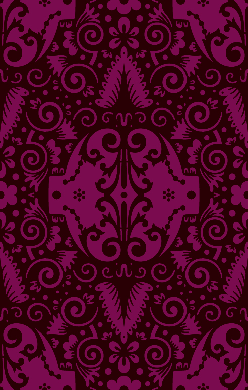 [패턴] 다마스크원단 패턴 디자인