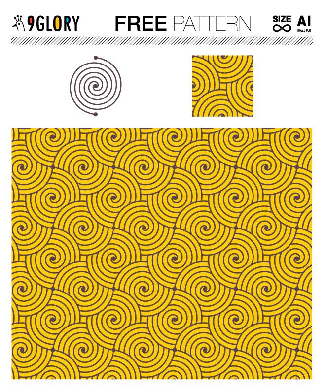 [패턴] 미스터리 서클 패턴 디자인 1