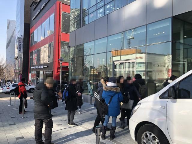 [실시간 뉴스] 레진코믹스 불공정행위 규탄 집회 30분 전 상황