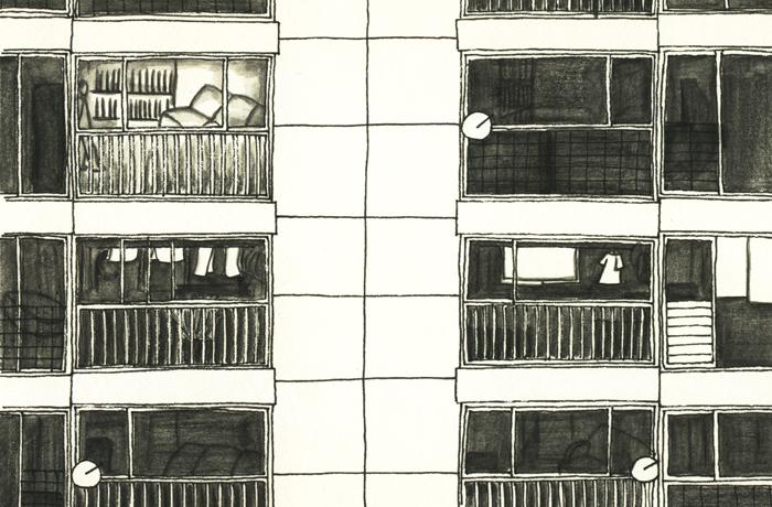 마루의사실_애니메이션 도시에사는사람들의공간감 이미지