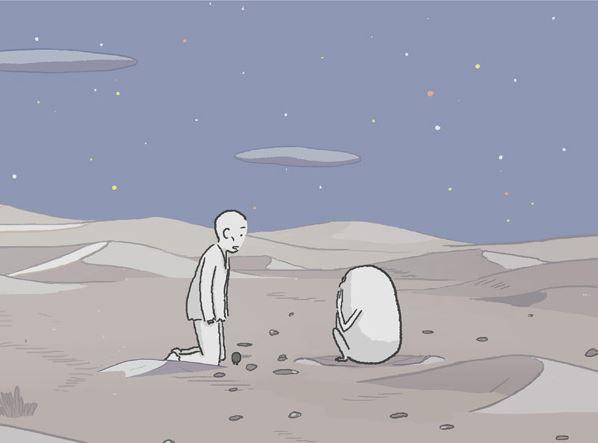 사막에서 잃어버린 마음을 찾다