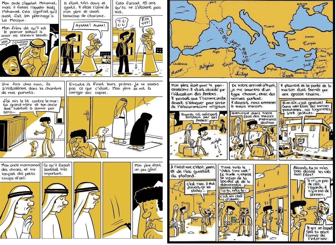 『미래의 아랍인(L'Arabe du future)』, 히아드 싸뚜프(Riad Sattouf)