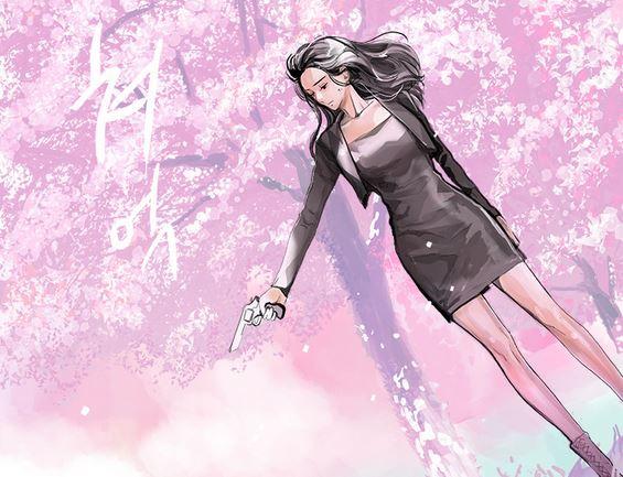 잔인한 축제 벚꽃 만개 복수