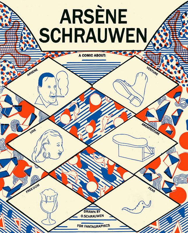 『아르센 슈라우웬Arsene Schrauwen』, Olivier Schrauwen (2010)