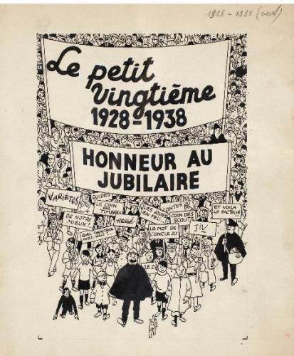 《작은 20(Le Petit Vingtième)》은 《20세기(Le Vingtième Siècle)》라는 이름의 벨기에 신문에 추가로 발행되었던 주간지로, 에르제(Hergé)가 편집자로 있었던 잡지다. 1938년 작, 453,000 유로에 판매