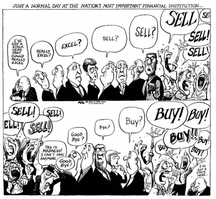 외환위기(1997)와 금융위기(2008)를 풍자한 칼의 역대 최고 만평.