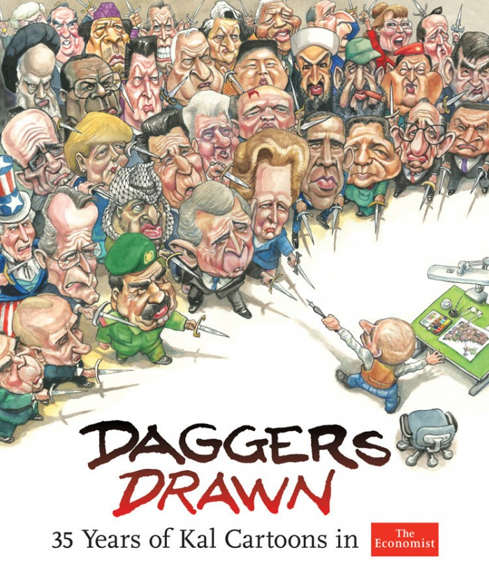 『Daggers Drawn』,  케빈 캘러허(Kevin Kallaugher; Kal), 2013, USA