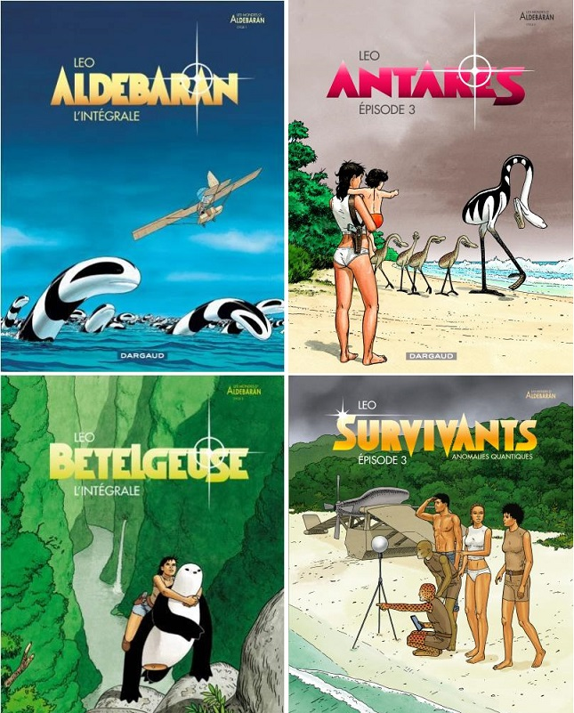 LEO의 『알데바헝(알데바란)의 세계(Les Mondes d'Aldébaran)』 시리즈.