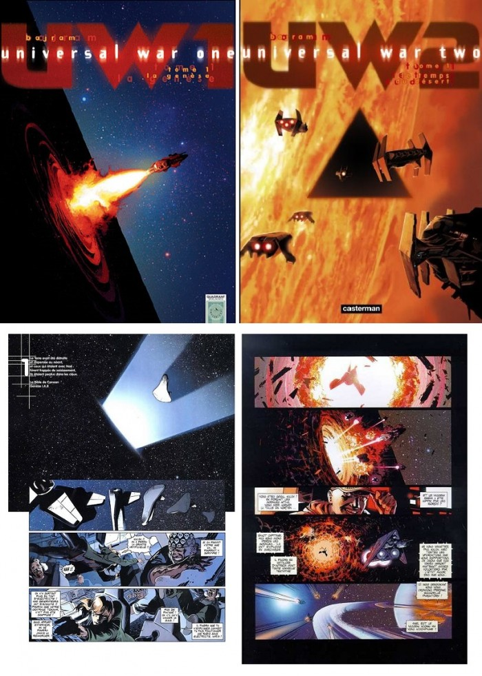 드니 바즈람, 『우주전쟁(Universal War)』시리즈. 마블코믹스를 통해 영미권에도 번역출간되었다