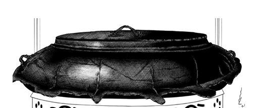 『효게모노』 이야기의 시작, 명물 다관(茶罐)'히라구모'