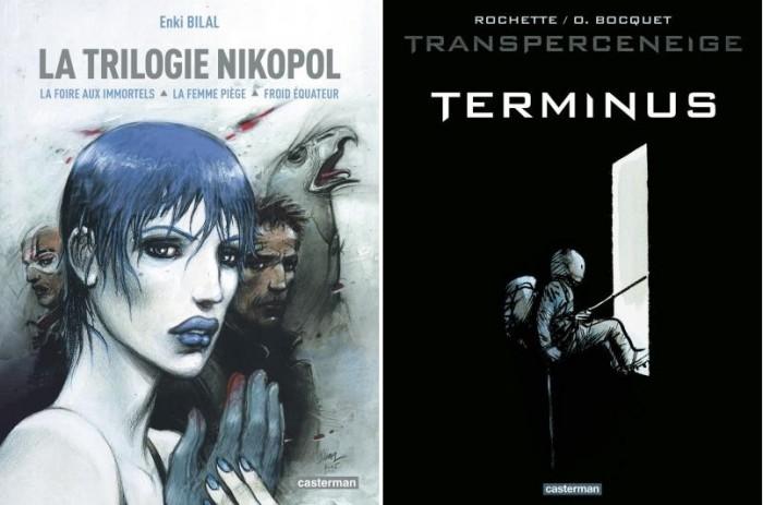 『니코폴 3부작(La Trilogie Nikopol)』과  『설국열차(Le Transperceneige)』