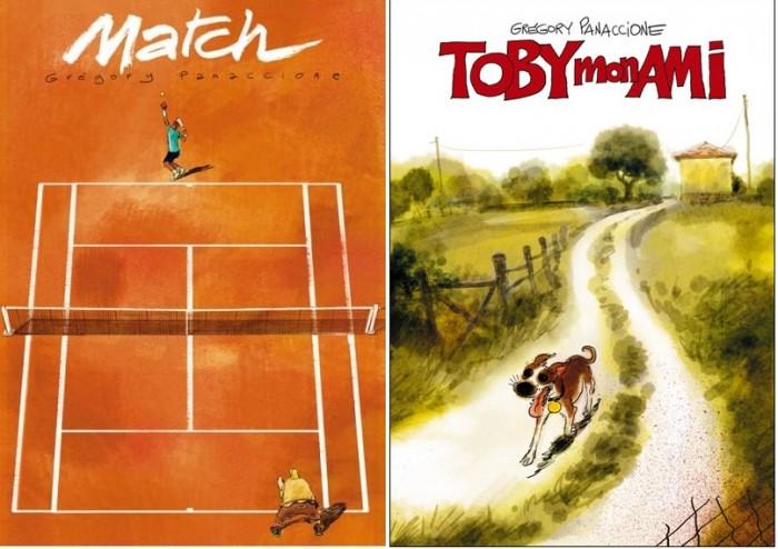 (왼쪽부터)『시합(Match)』 『내 친구 토비(Toby mon ami)』