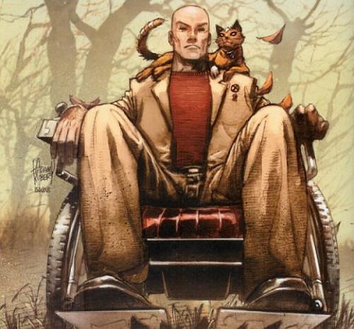 ▲ 프로페서 X, 자비에 교수는 뭐... 이런 캐릭터다. 달리 설명이 필요하지 않은 X-MEN 시리즈에서 가장 유명한 캐릭터. 영화 『데드풀』에서는 아무리 기다려도 안 나온다.